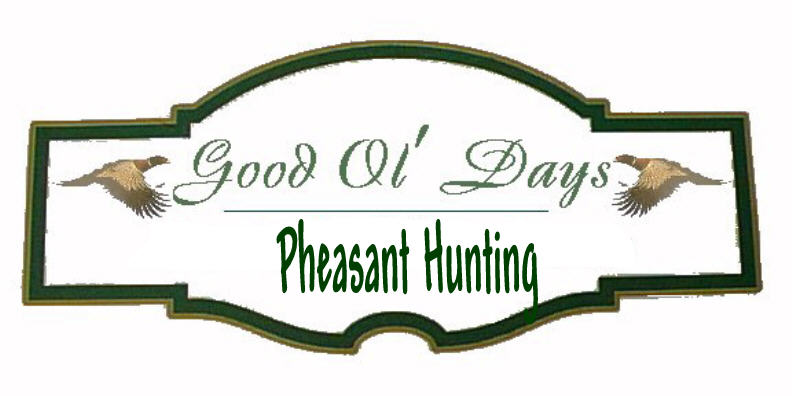 Good Ol Days Pheasant Hunting South Dakota